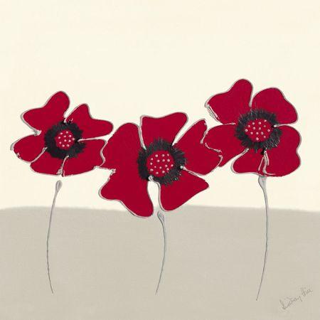 Czerwone kwiaty II