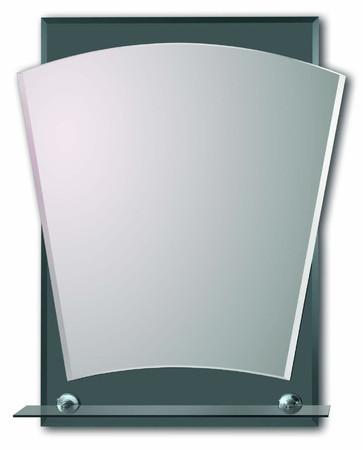 Lustro srebrne wykrojone SL045B