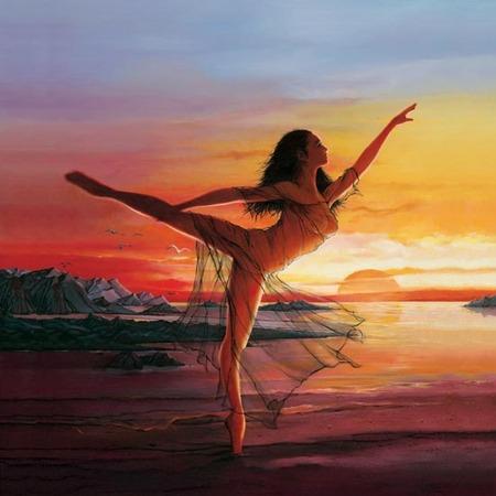 Tańcząca nimfa
