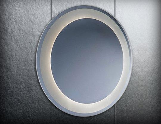 Lustro okrągłe podświetlane E01