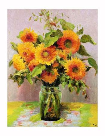Kwiaty słonecznika
