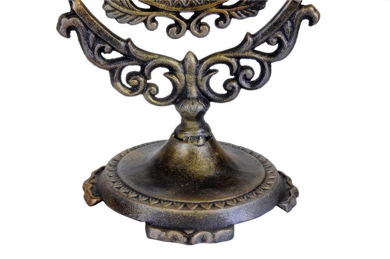Lustro kosmetyczne z bogatym ornamentem TZ121