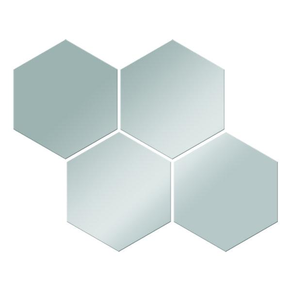 Płytki lustrzane plaster miodu IV