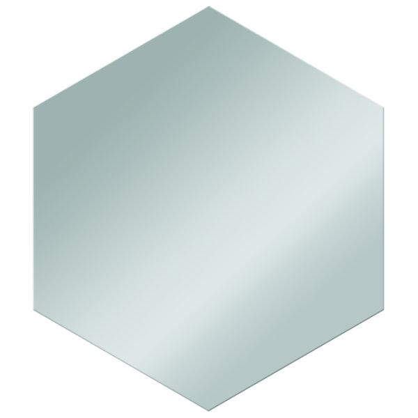 Lustro w kształcie heksanu KBC122
