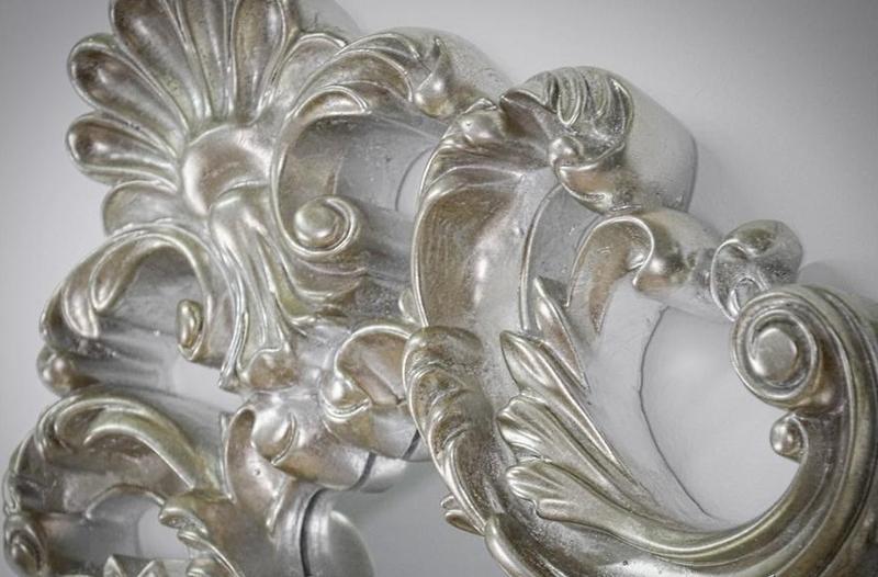 Lustro antyczne srebrne Laguna 24