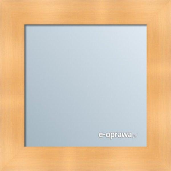 Lustro w ramie złotej nowoczesnej Hawana AK