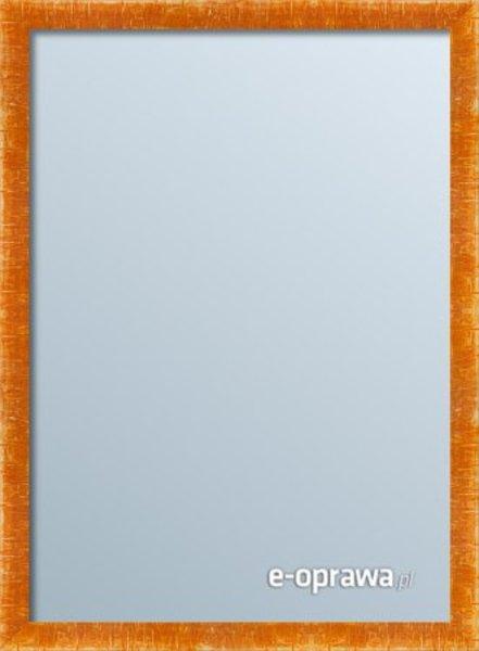 Lustro w pomarańczowej ramie Colorado RA