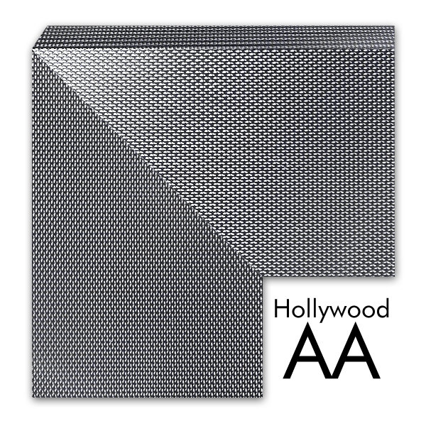 Lustro w ramie grafitowej Hollywood AA