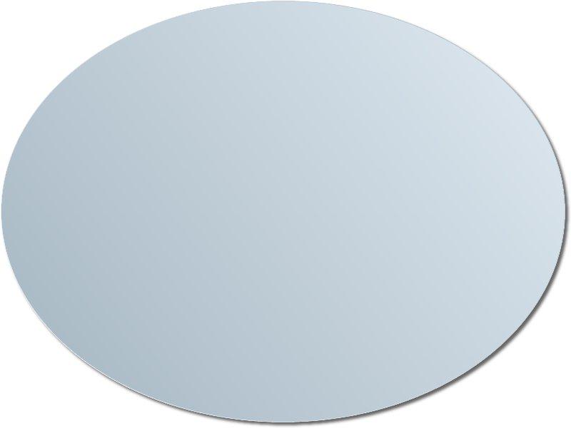 Lustro owalne srebrne LKT025