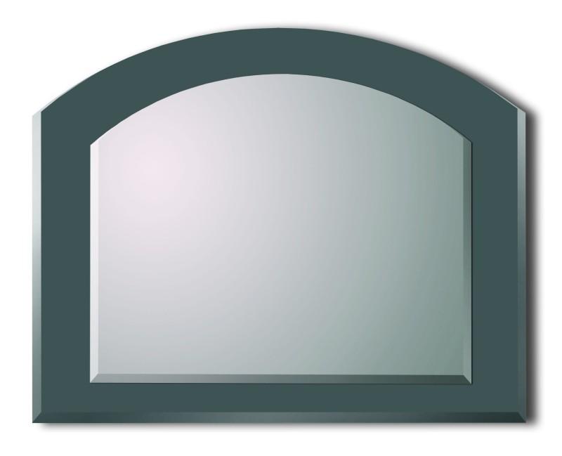 Lustro srebrne z zaokrągleniem SL029B