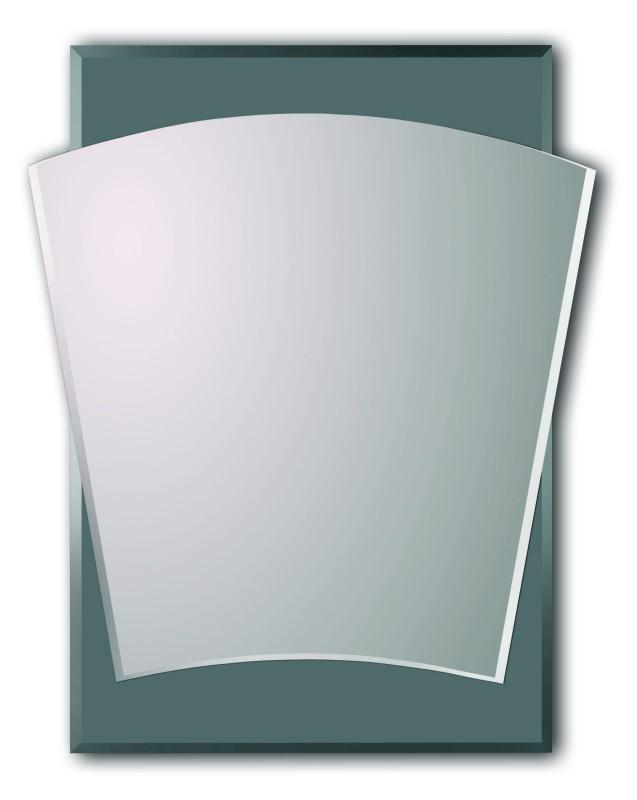 Lustro srebrne zaokrąglone SL044B
