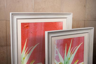 Rama w kolorze surowego drewna Cejlon AA