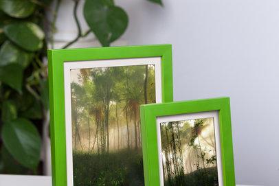 Ramka zielona Dalia AF
