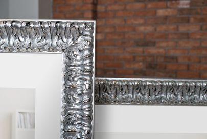 Rama srebrna ornamentowa przetarta Annabel AA